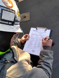 Cyrco professional evaluates and inspects cooling towers of any scale