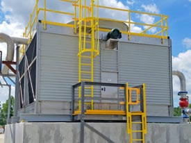 Cyrco's XFS Splash Cross Flow Cooling Towers