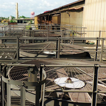 Cooling Tower Replacement Fan Guards and Screens