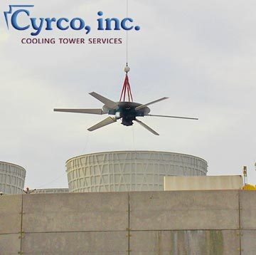 Fan Replacement Energy Power Plant Cooling Tower