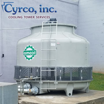 New Amcot Fiberglass Cooling Tower for Sale