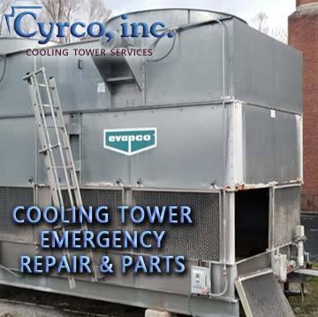 Evapco Metal Cooling Tower Emergency Repair
