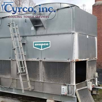 Cooling Tower Fill Media Heat Transfer Replacement